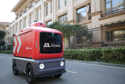 JD Adopts Smart Delivery Vehicle in Shijiazhuang